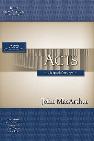 Acts-The MacArthur Bible Studies PB by MacArthur