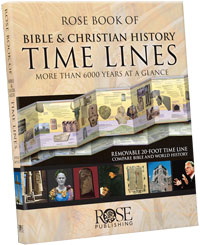 Rose Book of Bible & Christian History Time Lines