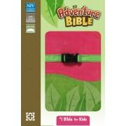 NIV, Adventure Bible, Imitation Leather, Pink/Green