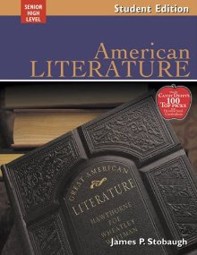 American Literature: Encouraging Thoughtful Christians To Be World Changers; Senior High Level *Scratch & Dent*