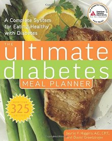 The Ultimate Diabetes Meal Planner: A Complete System for Eating Healthy with Diabetes *Scratch & Dent*