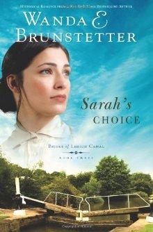 Sarah's Choice (Brides of Lehigh Canal, Book 3) *Scratch & Dent*