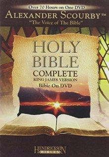 Kng James Version (KJV) Complete Bible on DVD: Narrated by Stephen Johnston