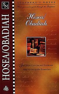Shepherd's Notes: Hosea/Obadiah *Scratch & Dent*