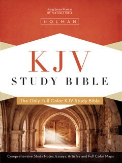 KJV Study Bible, Jacketed Hardcover