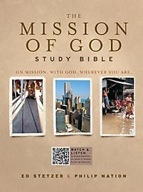 The Mission of God Study Bible, Hardcover *Scratch & Dent*