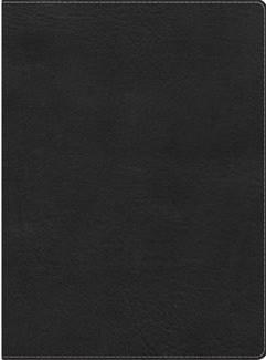 KJV Study Bible, Mantova Black LeatherTouch