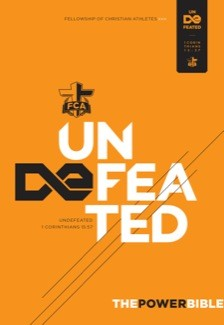 The Power Bible: Undefeated Edition (FCA) *Scratch & Dent*