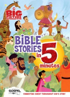 The Big Picture Interactive Bible Stories in 5 Minutes, Padded Cover: Connecting Christ Throughout God's Story (The Gospel Project) *Scratch & Dent*