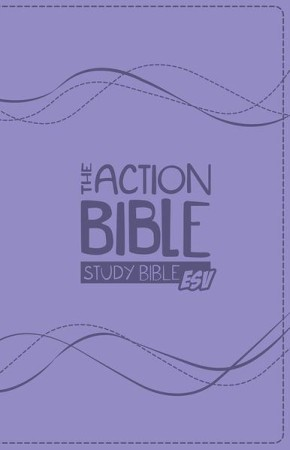 The Action Bible Study Bible ESV (Lavender) *Scratch & Dent*