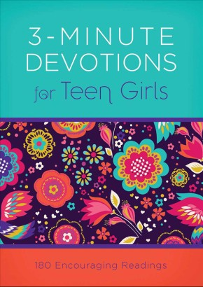 3-Minute Devotions for Teen Girls: 180 Encouraging Readings *Scratch & Dent*