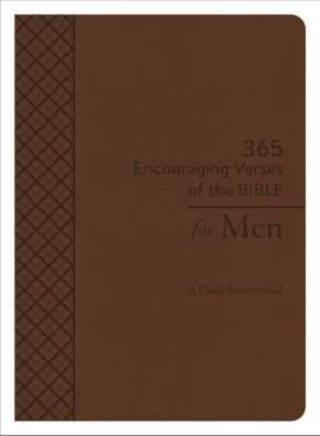 365 Encouraging Verses of the Bible for Men: A Daily Devotional *Scratch & Dent*