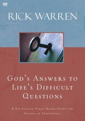 God's Answers to Life's Difficult Questions Video Study