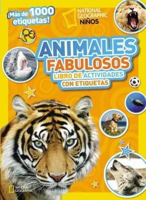 Animales fabulosos: Libro de actividades con etiquetas (National Geographic Kids) (Spanish Edition)