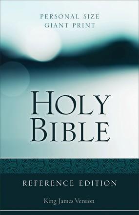 KJV Personal Size Giant Print Reference Bible Paperback
