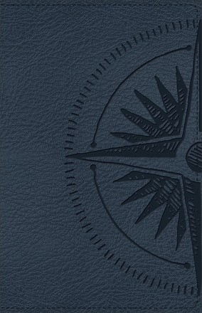 CSB Heart of God Teen Study Bible Navy, Compass Design LeatherTouch