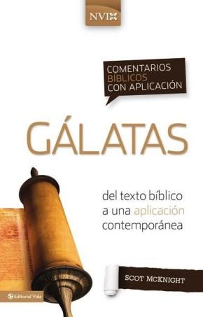 Comentario biblico con aplicacion NVI Galatas