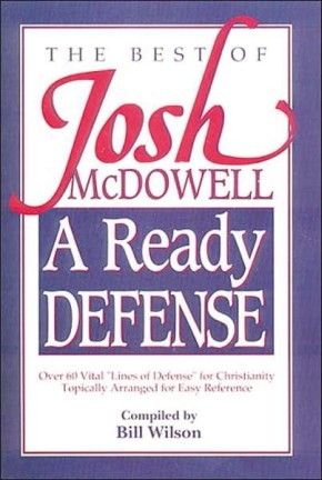 A Ready Defense The Best Of Josh Mcdowell *Scratch & Dent*