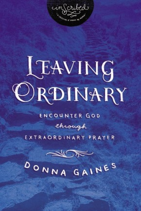 Leaving Ordinary: Encounter God Through Extraordinary Prayer (InScribed Collection) *Scratch & Dent*