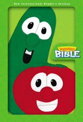 NIrV, VeggieTales Bible, Leathersoft, Green/Red (Big Idea Books)