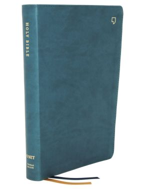 NET Bible, Thinline Large Print, Leathersoft, Teal, Comfort Print: Holy Bible