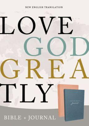 NET, Love God Greatly Bible/Journal Combo: Holy Bible
