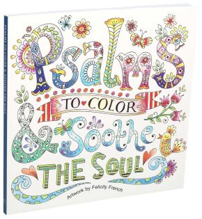 Psalms to Color & Soothe the Soul *Scratch & Dent*