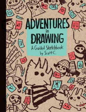 Adventures in Drawing: A Guided Sketchbook *Scratch & Dent*