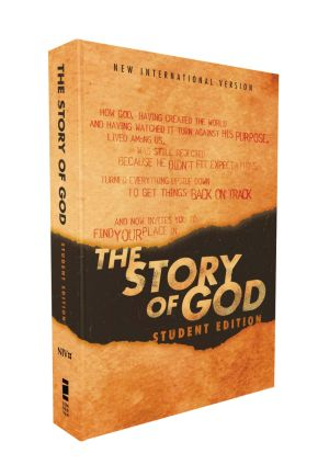 NIV, The Story of God, Student Edition, Paperback