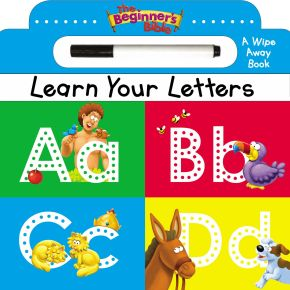 The Beginner's Bible Learn Your Letters: A Wipe Away Board Book