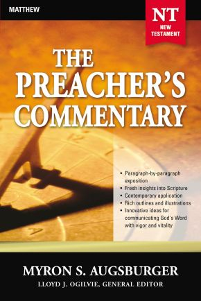 The Preacher's Commentary- Vol. 24- Matthew