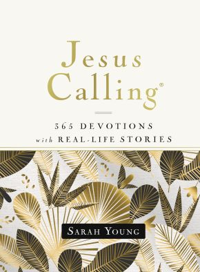 Jesus Calling, 365 Devotions with Real-Life Stories, Hardcover, with Full Scriptures *Scratch & Dent*