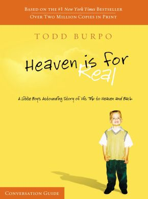 Heaven Is For Real Conversation Guide *Scratch & Dent*