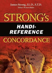 Strong's Handi-Reference Concordance (AMG Handi-Reference Series) *Scratch & Dent*