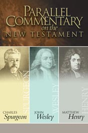 Parallel Commentary on the New Testament- Spurgeon Wesley Henry *Scratch & Dent*