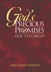 God's Precious Promises New Testament: KJV Edition in Burgundy