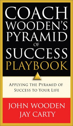 Coach Wooden's Pyramid of Success Playbook *Scratch & Dent*
