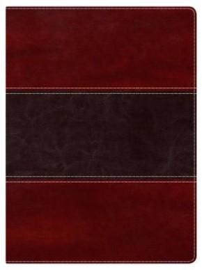 Holman Study Bible: NKJV Edition, Mahogany LeatherTouch