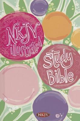 Illustrated Study Bible for Kids-NKJV-Girls