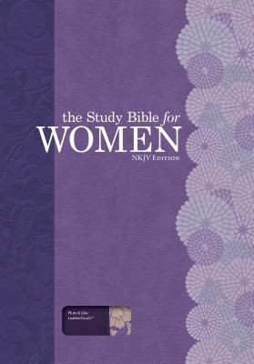 The Study Bible for Women: NKJV Edition, Plum/Lilac Leathertouch