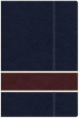 Military Families Bible Navy/Crimson LeatherTouch HCSB