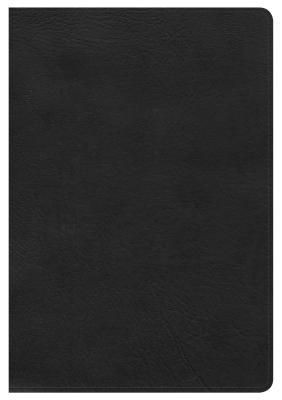 KJV Large Print Ultrathin Reference Bible, Black LeatherTouch, Indexed