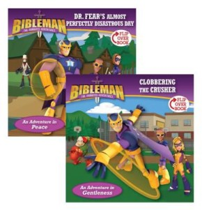 Dr. Fear's Almost Perfectly Disastrous Day / Clobbering the Crusher, Flip-Over Book (Bibleman)
