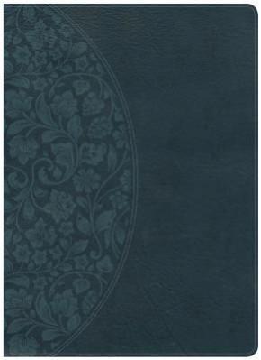 Holman Study Bible: NKJV Large Print Edition Dark Teal LeatherTouch *Scratch & Dent*