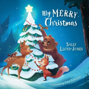 My Merry Christmas (padded board book) *Scratch & Dent*