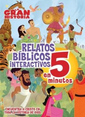 La Gran Historia, Relatos Biblicos en 5 minutos, tapa dura (The Gospel Project) (Spanish Edition)