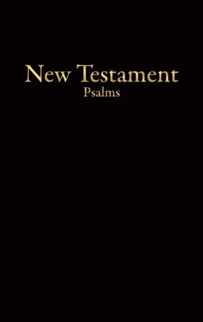 KJV Economy New Testament with Psalms (Black)