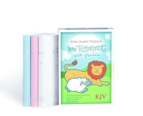 KJV Baby's New Testament, Blue Imitation Leather