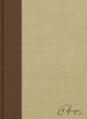 CSB Spurgeon Study Bible, Brown/Tan Cloth Over Board