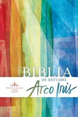 RVR 1960 Biblia de Estudio Arco Iris, multicolor, tapa dura (Spanish Edition) *Scratch & Dent*